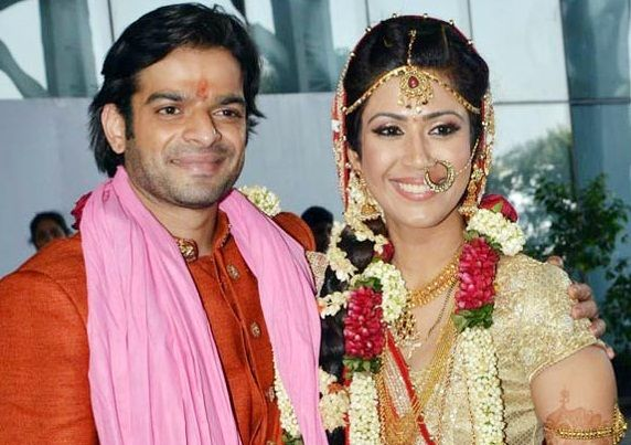 Ankita Bhargava with her Husband Karan Patel