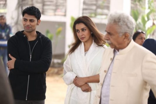 Antonio Aakeel during the shooting of The Hungry
