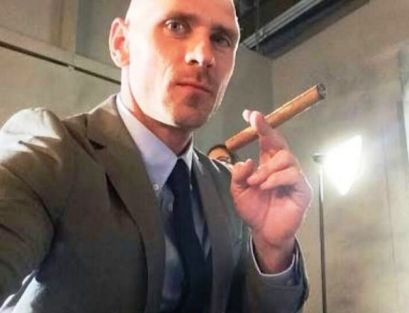 Johnny Sins smoking