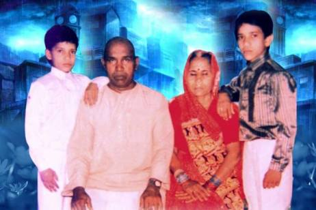 Dinesh Lal Yadav And His Family