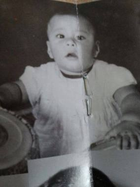 Childhood Photo Of Kumar Sanu