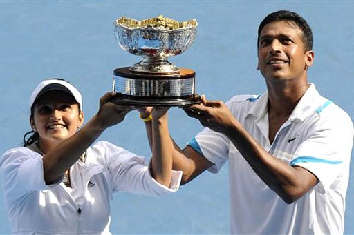 Sania Mirza's first grand slam with Mahesh Bhupati