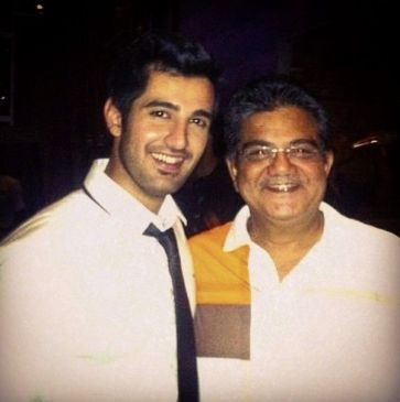 Aditya Seal And His Father