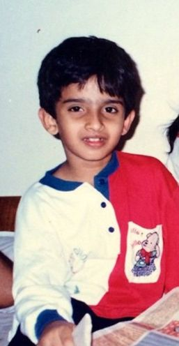 Amaal Mallik As A Child