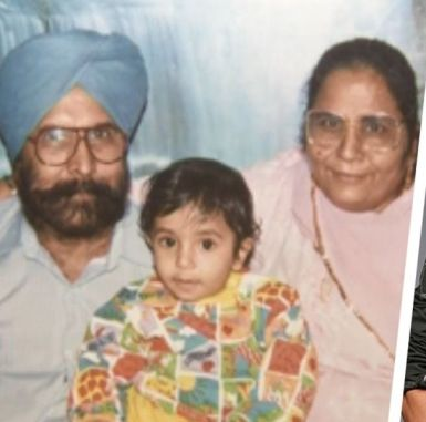 Amrinder Gill's parents