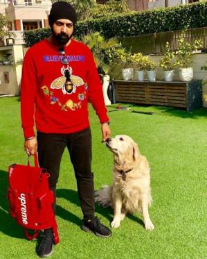 Gippy Grewal loves dogs