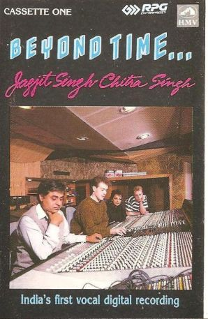 Jagjit Singh's Album- India's First Vocal Digital Recording, Beyond Time