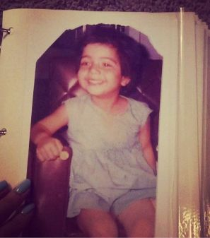 Jasmine Sandlas in her childhood