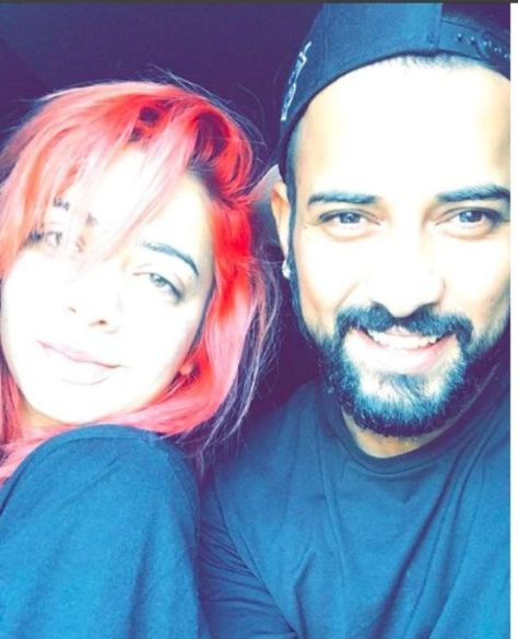 Jasmine Sandlas with Garry Sandhu