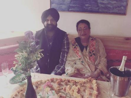 Karan Oberoi's Parents
