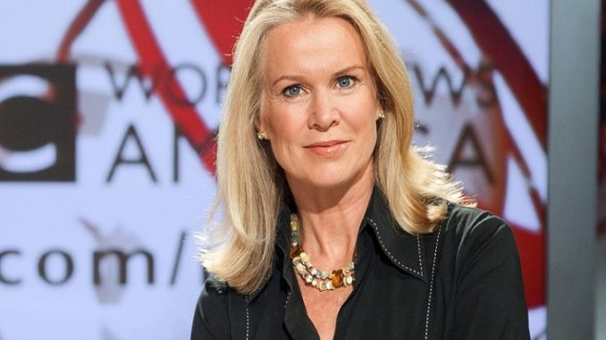 Katty Kay tied her knot with her long-term sweetheart and life-partner Tom Carver.