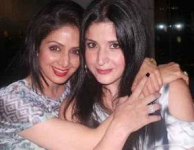 Maheep Sandhu with Sri Devi Kapoor (Sister-in-Law)