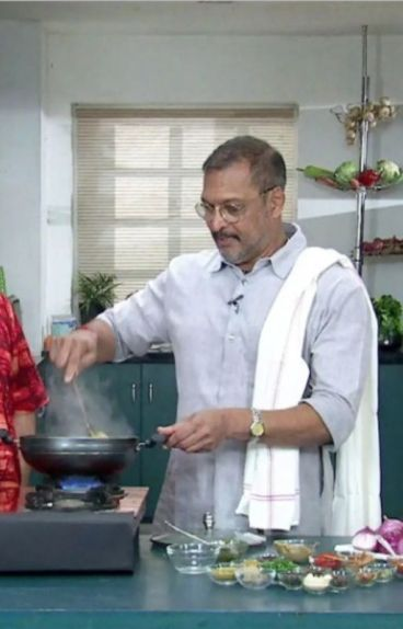 Nana Patekar Cooking