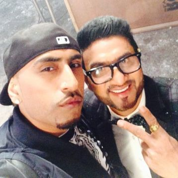 Preet Harpal with Dr. Zeus