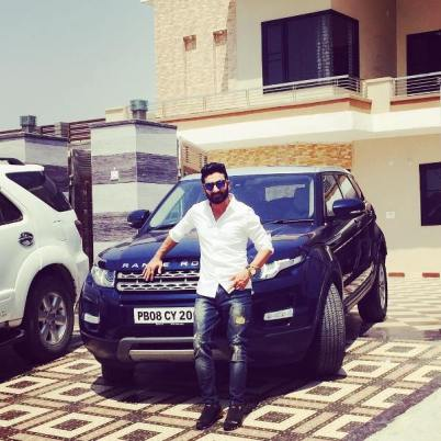 Preet Harpal with his Range Rover