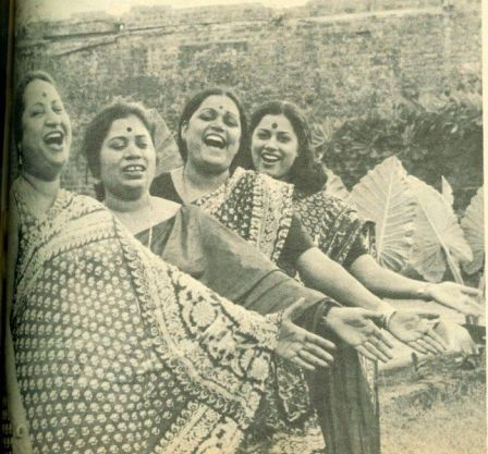 Usha Uthup With Her Sisters