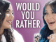 Would You Rather Questions about Celebrities
