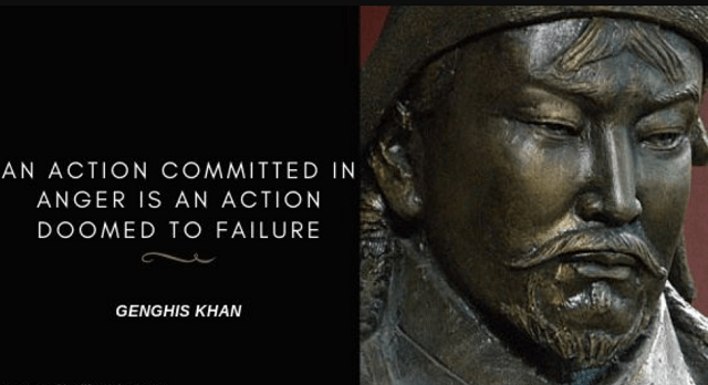 50 Notable Genghis Khan Quotes About Life War And Leadership