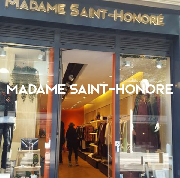 Madame Saint Honoré # Boutique multimarques pour femmes Paris