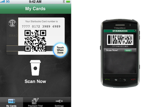 Starbucks now with Mobile Payments