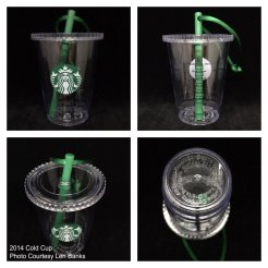 Starbucks Ornament Cold Cup