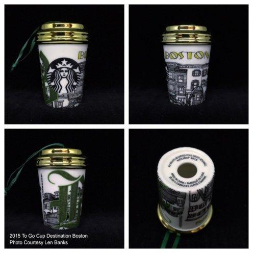 Starbucks Ornament Destination Series
