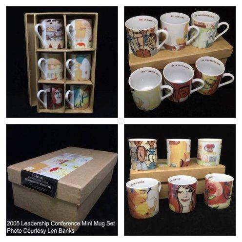 6000 2005 Leadership Conference Mini Mug Set