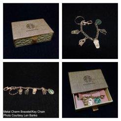 6007 Metal Charm Bracelet-Key Chain