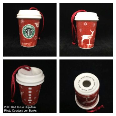 Starbucks Ornaments Red Cup