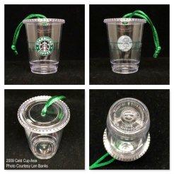 2009 Cold Cup Asia Starbucks Ornament