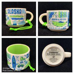 2018 Been There Series Alaska Starbucks Ornament