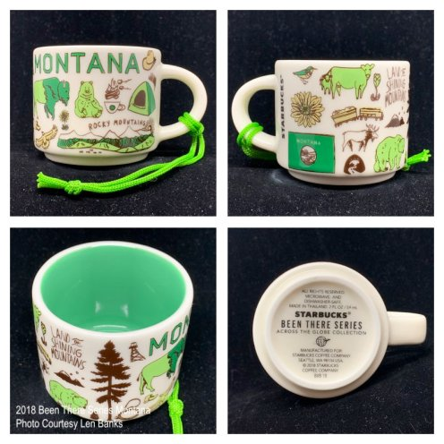 2018 Been There Series Montana Starbucks Ornament