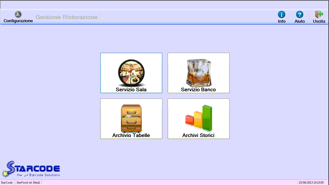 Gestione user-friendly del menu di avvio del programma