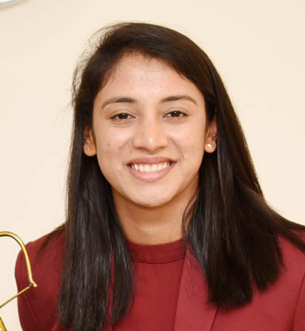 Ms. Smriti Mandhana Arjun Awardee Cricket in New Delhi on July 16 2019 cropped