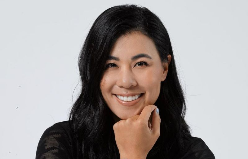 Danielle Kang at the omega official