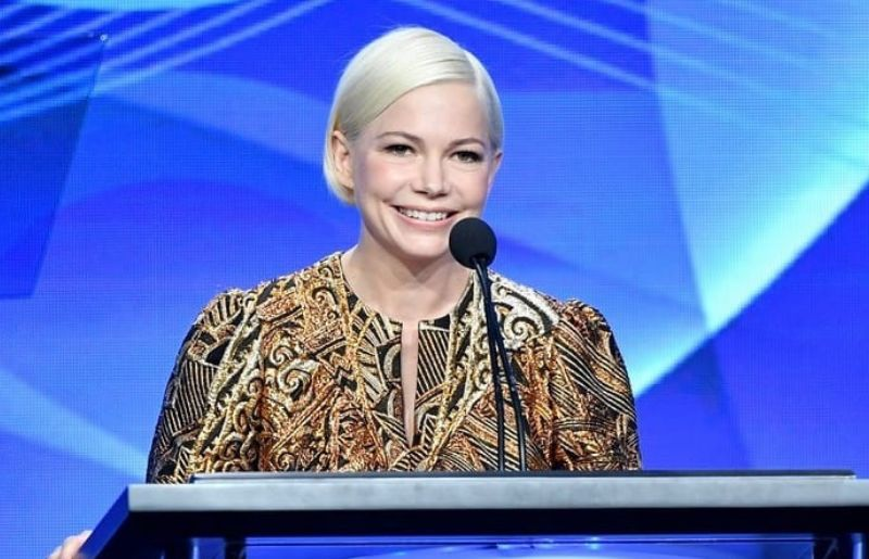 Michelle Williams at the award for Individual Achievement