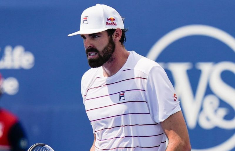 Reilly Opelka at USTA Billie Jean King National Tennis Center