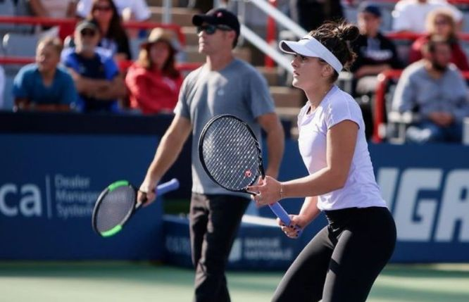 Bianca Andreescu at theMontreal, Quebec