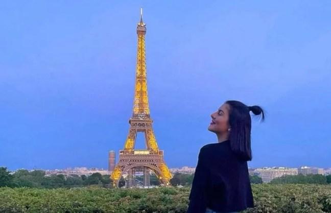 bianca andresscu in Paris, France