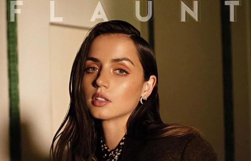 Ana de Armas at the flaunt magazine shot
