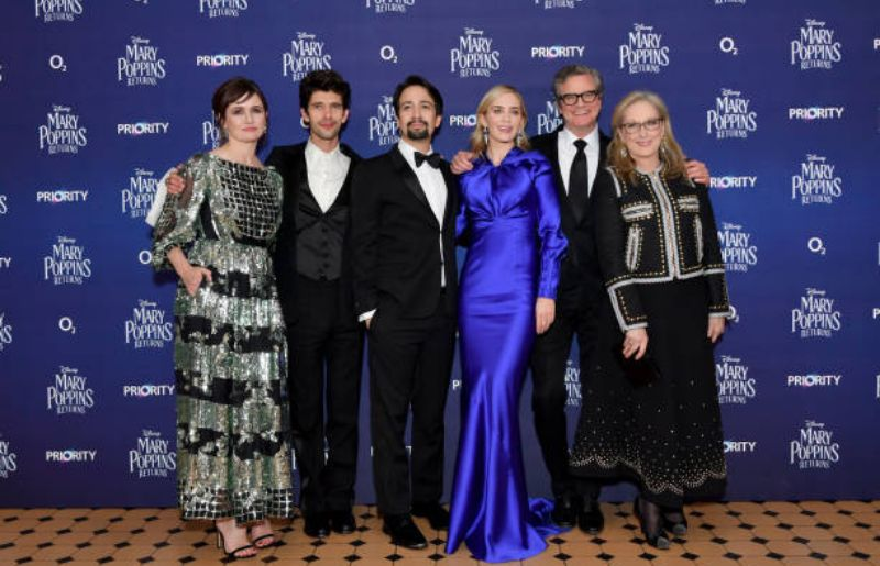 """Ben Whishaw at European Premiere Of """"Mary Poppins Returns"""""""