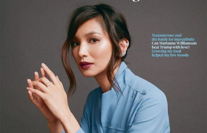 Gemma Chan at obsmagazine interview