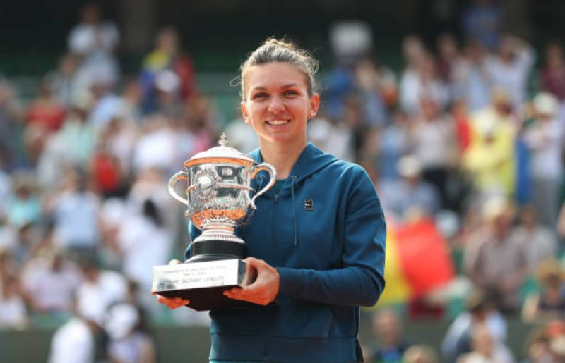 Simona Halep at 2018 French Open - Day Fourteen