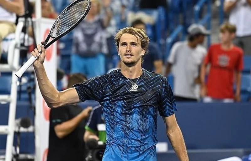 Alexander Zverev at Lindner Family Tennis Center