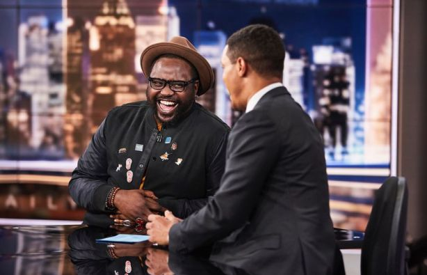 Brian Tyree Henry at the Daily Show
