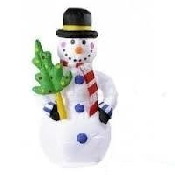 Opblaasbare sneeuwpop te huur
