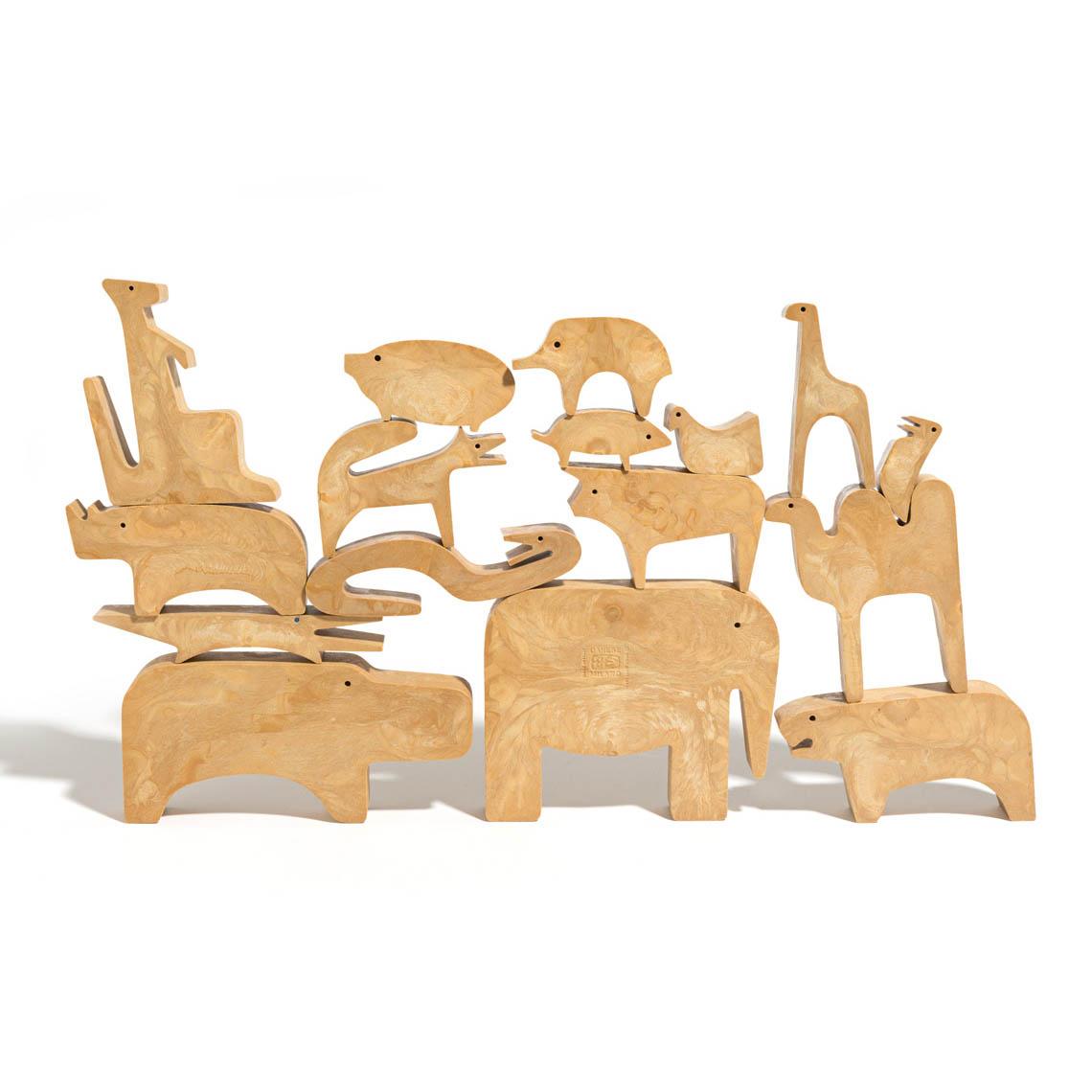 Danese Milano 16 Animali Puzzle By Enzo Mari Toys Amp Games