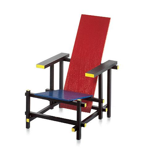 Rood Blauwe Stoel : Huis ideeën design stoel rietveld huis ideeën