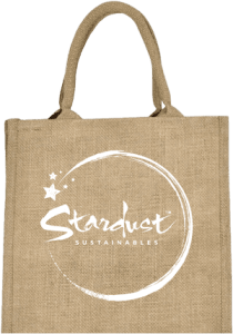 compostable jute bag - stardust sustainables