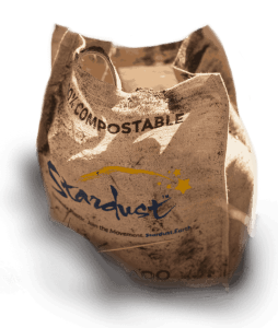 composting a stardust bag